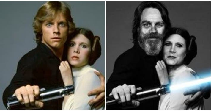 Photo : Before and after, look at how the Star Wars actors have changed