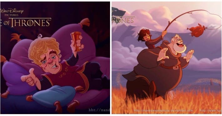 Photo : What if Game of Thrones was created by Disney?