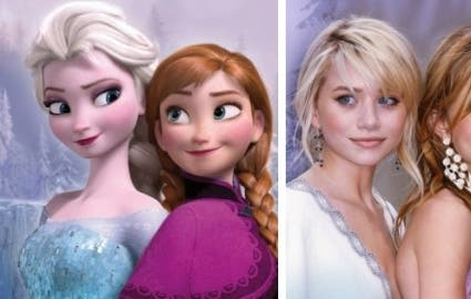 Photo : Of these 17 Disney characters, which ones resemble a celebrity the most?