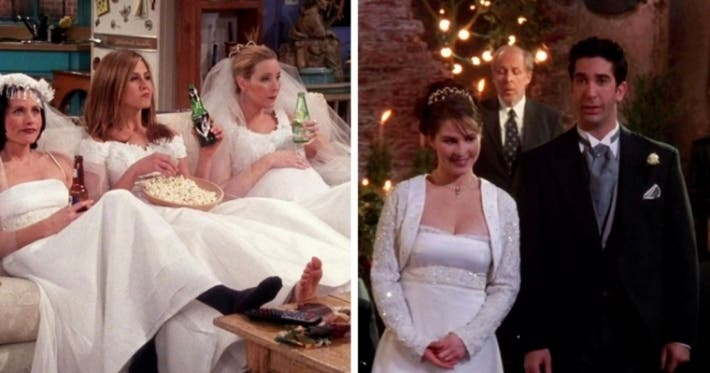 "Photo : 12 details you probably never noticed on ""Friends"""