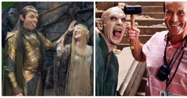 Photo : 31 behind-the-scenes photos from some famous movies