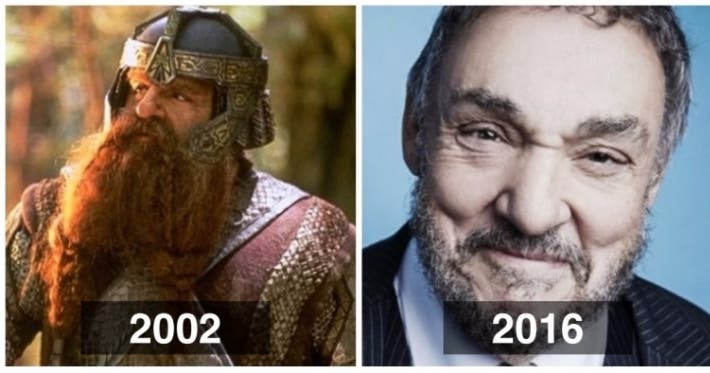 Photo : 16 Lord of the Rings actors 16 years after the first movie was released