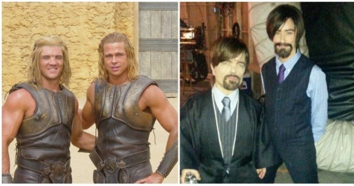 Photo : 16 stunts people who've reached the top of the Hollwood body double ladder
