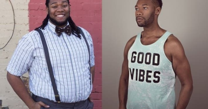 Photo : 24 guys who worked hard to change their bodies