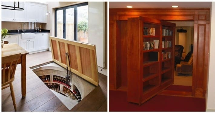 Photo : 15 houses with awesome secret rooms